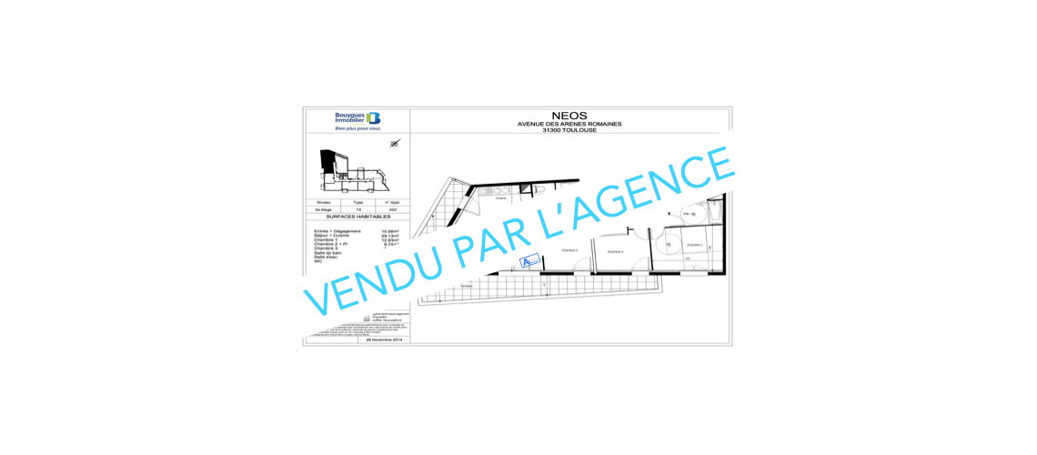 NEUF - APPARTEMENT T4 - SEPT DENIERS - ANCELY